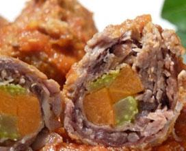 involtini con sedano e carota