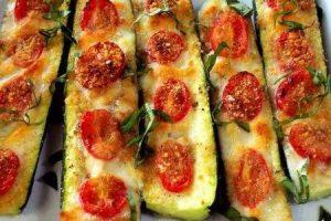 zucchine formaggio e prosciutto