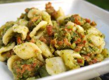 orecchiette broccoli e salsicce