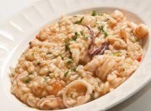 Creamy Sea Food Risotto