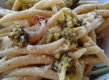 fusilli con broccoli re peperoncino