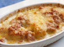 patate con besciamella