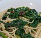 Spaghetti con cime di rapa